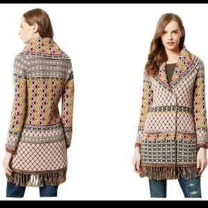 Anthro Angel of the North Satpura Sweater Coat